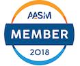 American Academy Sleep Medicine membership badge